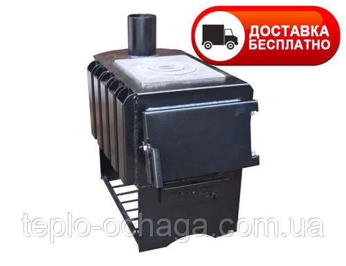 Дровяная печь для дома длительного горения Panda ПДГП-8П