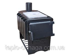Дровяная печь для дома длительного горения Panda ПДГП-8П, фото 2