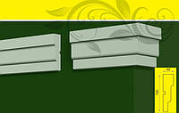 Молдинг - декор фасада для обрамления окон, в/ш, мм: 155 / 45