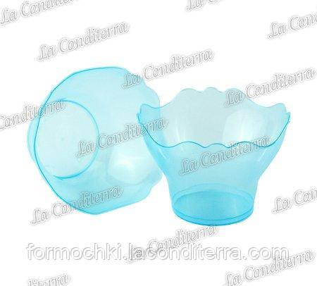 Пластиковая голубая креманка «Prego» 011201 (150 мл)