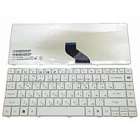 Клавиатура для ноутбука Acer Gateway NV49 Packard Bell NM85 NM86 NM87 NM98 (русская раскладка, белый цвет)