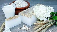 Мыло натуральное Молоко Овес