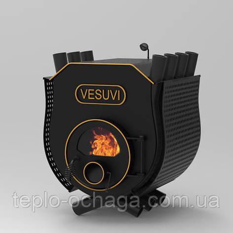 Печь Vesuvi, тип 01 варочная поверхность, стекло, перфорация, фото 2