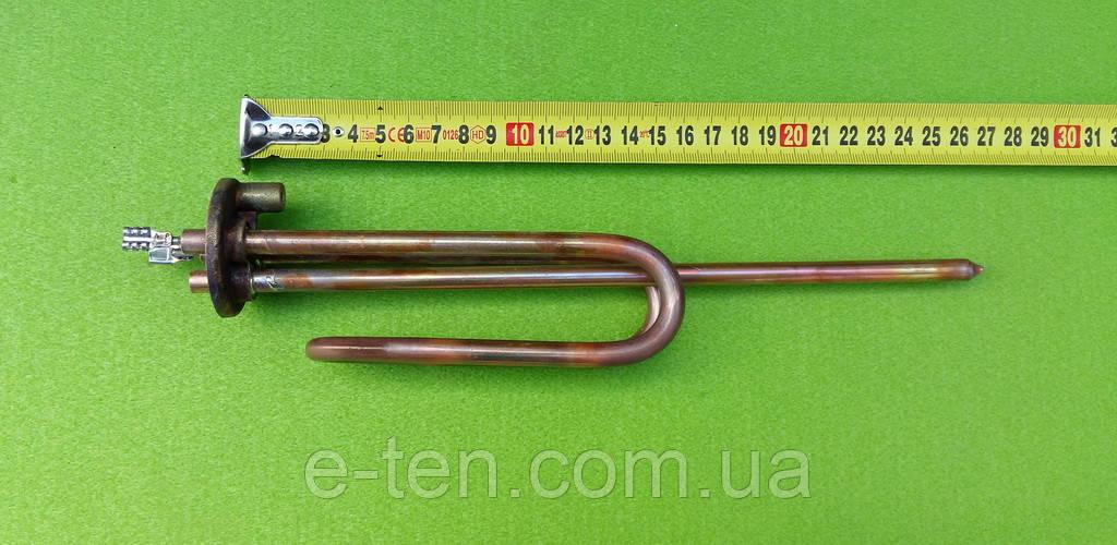 Тэн для бойлера Ariston 1500W на фланце с удлиненными контактами (с местом под анод М6)     Thermowatt, Италия