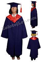 Мантия выпускника детская рост 134