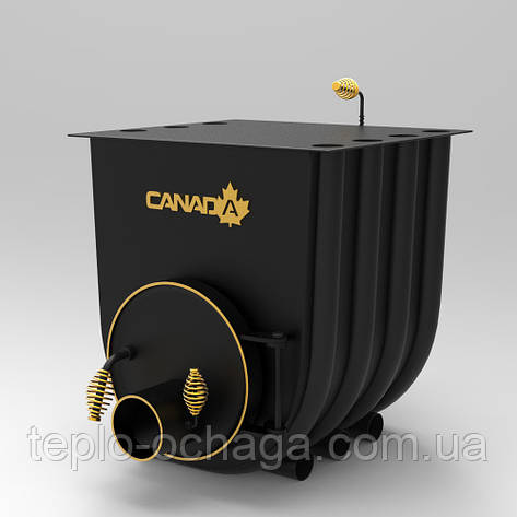 Печь Булерьян Канада, тип 02 с варочной поверхностью, фото 2