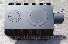 Буржуйка дровяная с радиаторами, 4 мм сталь, фото 2
