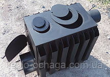 Буржуйка дровяная с радиаторами, 4 мм сталь, фото 3