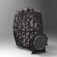 Печь банная дровяная Бочка 20 м.куб.