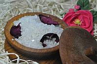 Соль морская для ванной Роза 1 кг