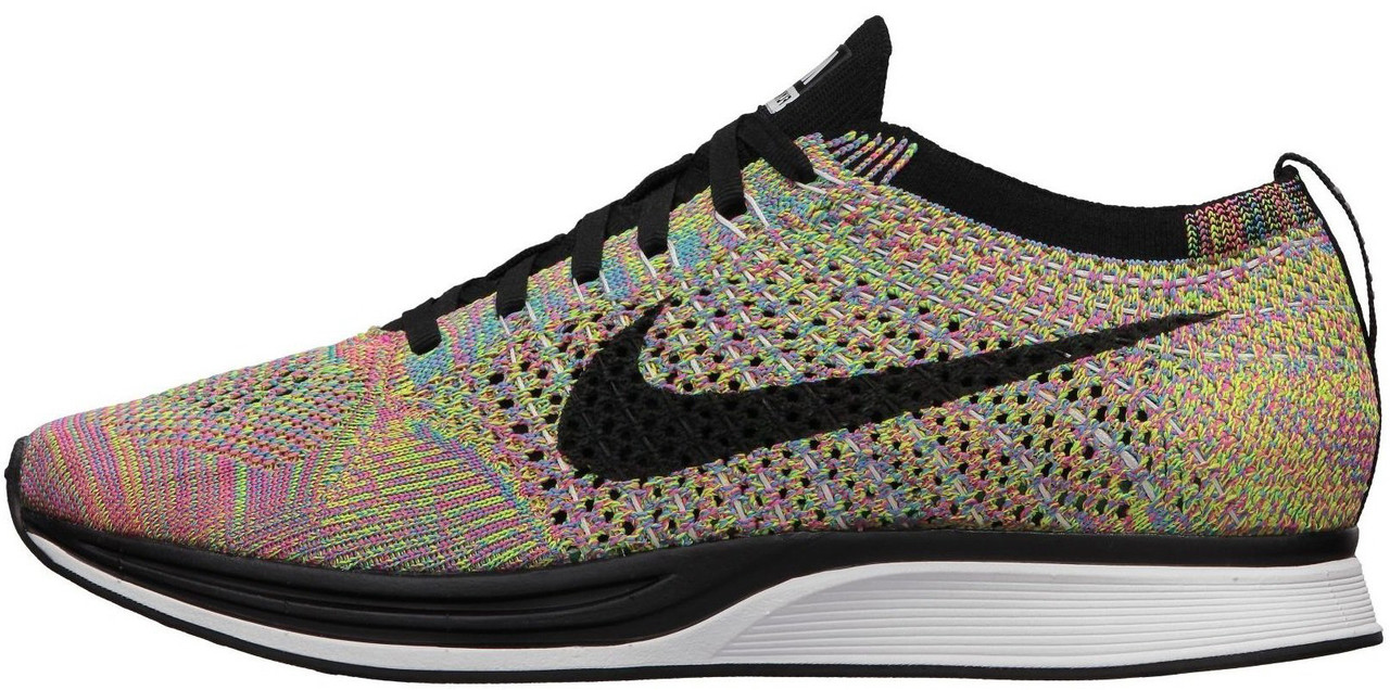 Мужские кроссовки Nike Flyknit Racer Multicolor, Найк Флайнит