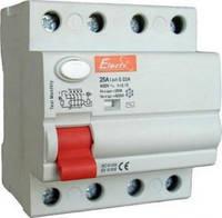 УЗО 1-63 4п. 25А 30mA  (ElectrO TM)