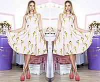 """Стильное молодежное платье мини """" Мороженое """" Dress Code"""