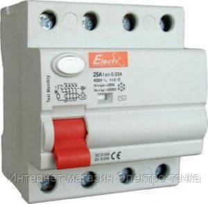 УЗО 1-63 4п. 40А 30mA  (ElectrO TM)
