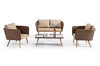 Комплект Диван + 2 Кресла + Кофейный столик