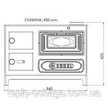 Піч DUVAL кухня чавунна ЄК 5010 Surel, фото 3