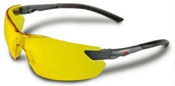 Защитные очки открытые 3М желтая линза