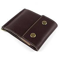 Кожаный зажим для денег Crez-2 (коричневый), фото 1