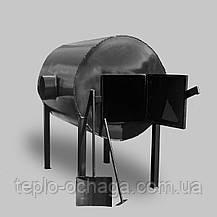 Брест 500 горизонтальная печь на дровах, фото 3