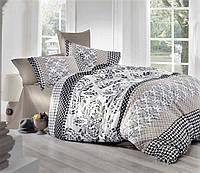 Комплект постельного белья семейный из сатина турецкий