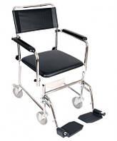 Кресло-каталка с санитарным оснащением MOD JBS367A