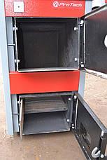 Котел твердотопливный PROTECH ТТП-15С Эконом (Econom) с плитой, фото 2