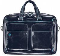 Кожаный портфель Piquadro BL SQUARE/N.Blue, CA2849B2_BLU2