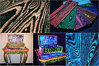 Флуоресцентная ультрафиолетовая краска для дерева Noxton