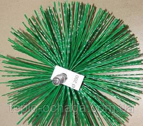 Щетка для чистки дымохода, пластик под резьбу, 200 мм, фото 2