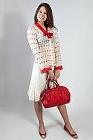Блуза женская летняя цветная с длинным рукавом  Snake Milano