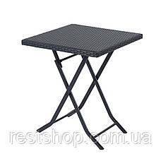 Комплект раскладной Кофейный столик + 2 стула, фото 3