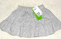 Детская юбка девочке детская  серая 12-18мес, фото 1