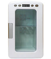 Мини холодильник для косметики 10L с электронным дисплеем