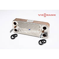 Теплообменник вторичный VIESSMANN VITOPEND 100 WH1B 24 кВт - 12 пластин 7825533