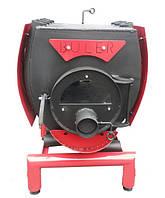 Печь Булерьян с варочной поверхностью с кожухом и стеклом тип 00