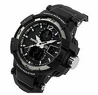 """Мужские часы от TM """"Skmei"""" ( Черные )"""