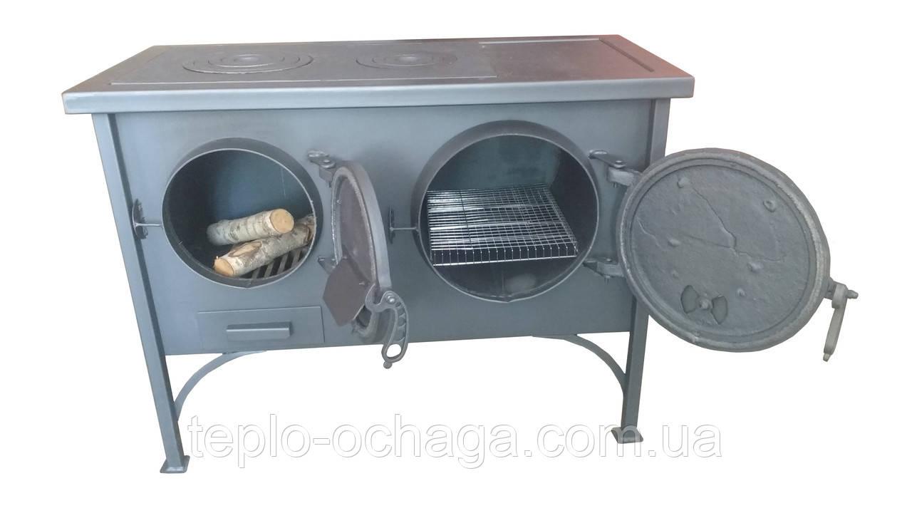 Печь с плитой и духовкой ЭКТОР
