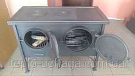 Печь с плитой и духовкой ЭКТОР, фото 3