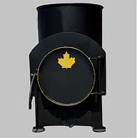 Печь Буржуйка для дачи на дровах Canada 85 куб.м.