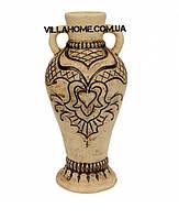 Ваза керамическая для улицы. Высота 43 см Декоративные напольные вазы.