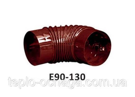 Колено для дымохода Е-90 130 мм , фото 2