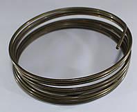 Проволока для бижутерии. Золото винтажное  2,0 мм  1,5 метра. Жесткая