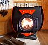 Печь на дровах Булерьян со стеклом, чугунными колосниками, тип 04, фото 2