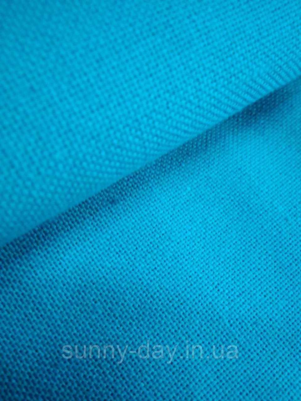 Домотканое полотно, бирюзовая, 50*70см
