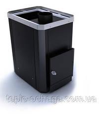 """Банная печь """"Классик"""" 26 куб.м.НОВАСЛАВ без выноса топочной камеры, фото 2"""
