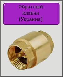 """Обратный клапан 1"""""""