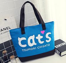 """Жіноча сумка для пляжу """"Cat"""", фото 2"""