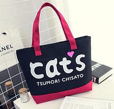"""Жіноча сумка для пляжу """"Cat"""", фото 3"""