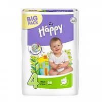 Детские подгузники, памперсы Bella Happy Maxi 4 (8-18кг ) BIG PACK 66  шт.