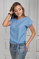 Женская блуза с с завязками p.42-46 S1303